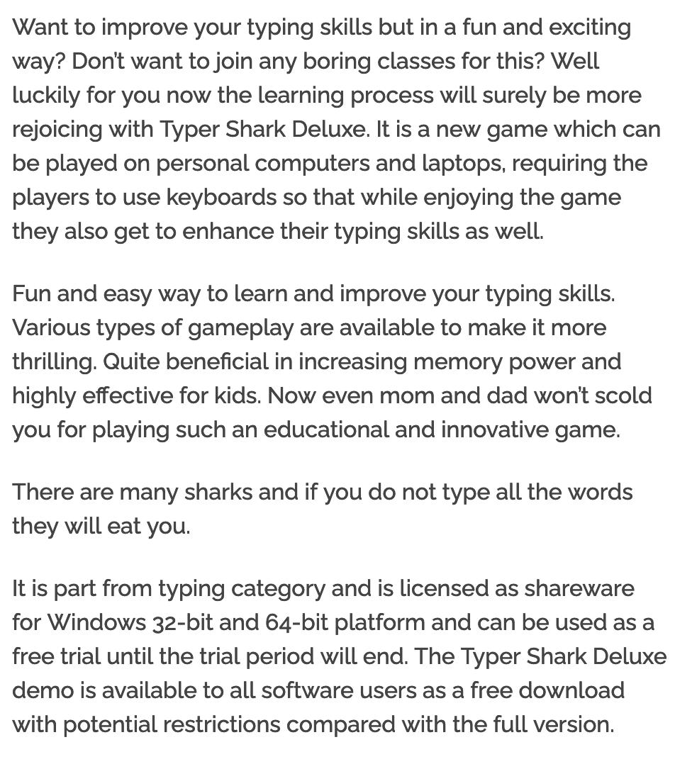 Typer Shark